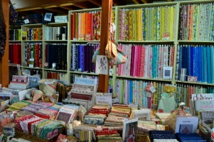 Cushla's Village Fabric