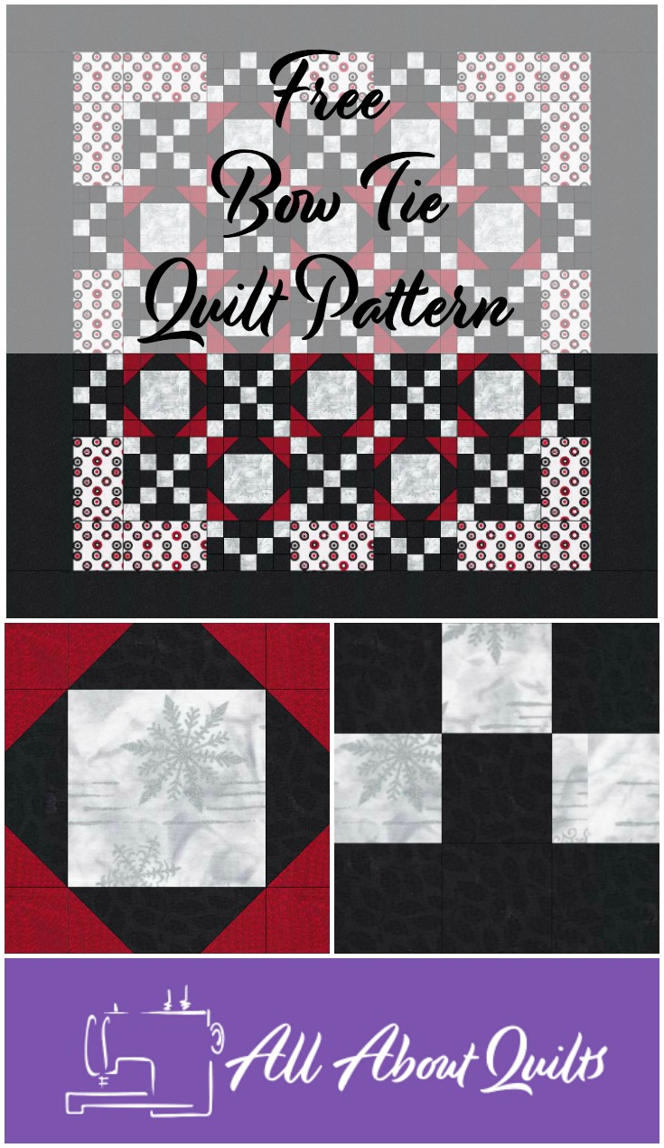Free Bow Tie quilt pattern