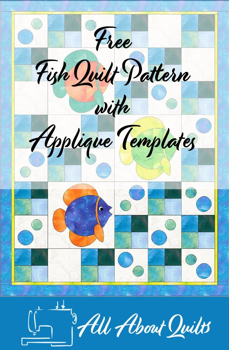 Free Fish quilt pattern