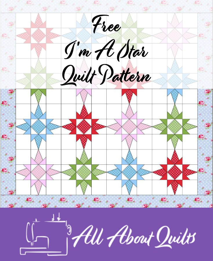 Free I'm A Star quilt pattern