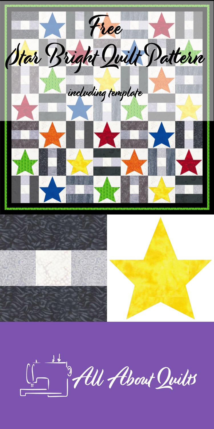 Free Star Bright quilt pattern