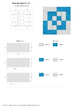 To Bento Box Block Rotary Cutting Guide PDF download