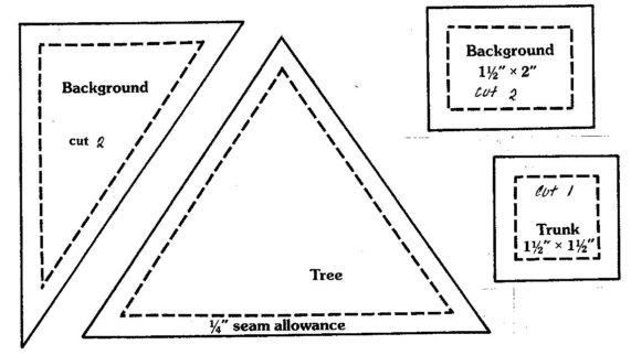 To Christmas Tree Block PDF download