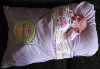 Baby sleep snuggle bag