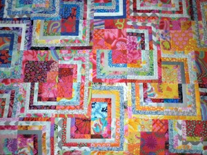 My Stacking Squares Quilt